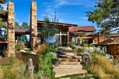 易选材--资讯-石头与木材的豪宅