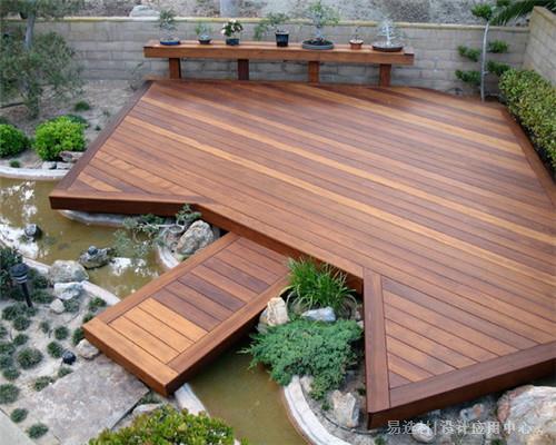 易选材--资讯-木夹板露台设计