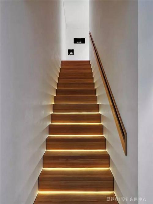 易选材--资讯-楼梯踏步灯