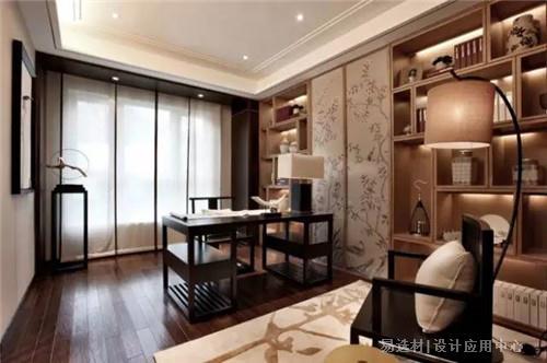 新中式书房图片