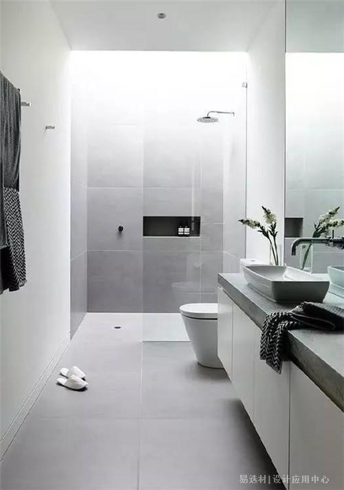 易选材--资讯-卫生间瓷砖搭配