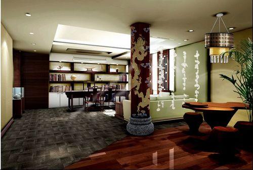 茶楼装修;茶楼设计;茶楼装修效果图;茶楼图片