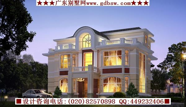 农村自建房别墅建筑设-广州别墅建筑设计公司的设计