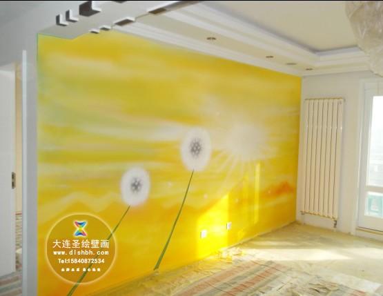 永葆时尚,美观,大气,手绘墙画是您装修墙面的首选之一.