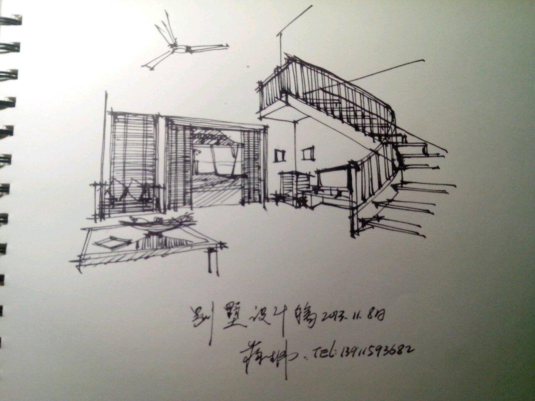 我的手绘图,请同行给-北京蒋生伟室内设计有限公司的