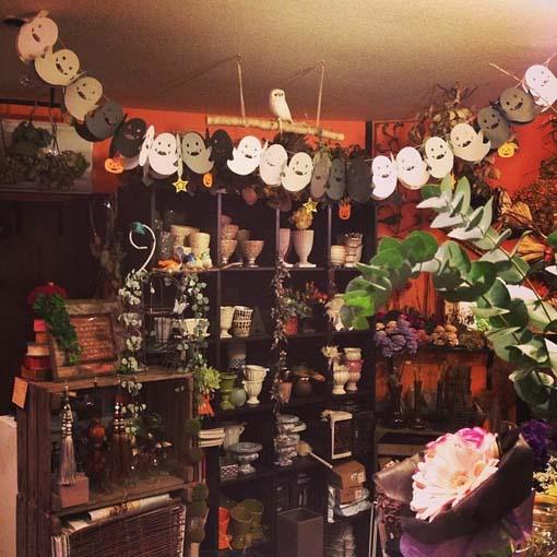 小型花店效果图