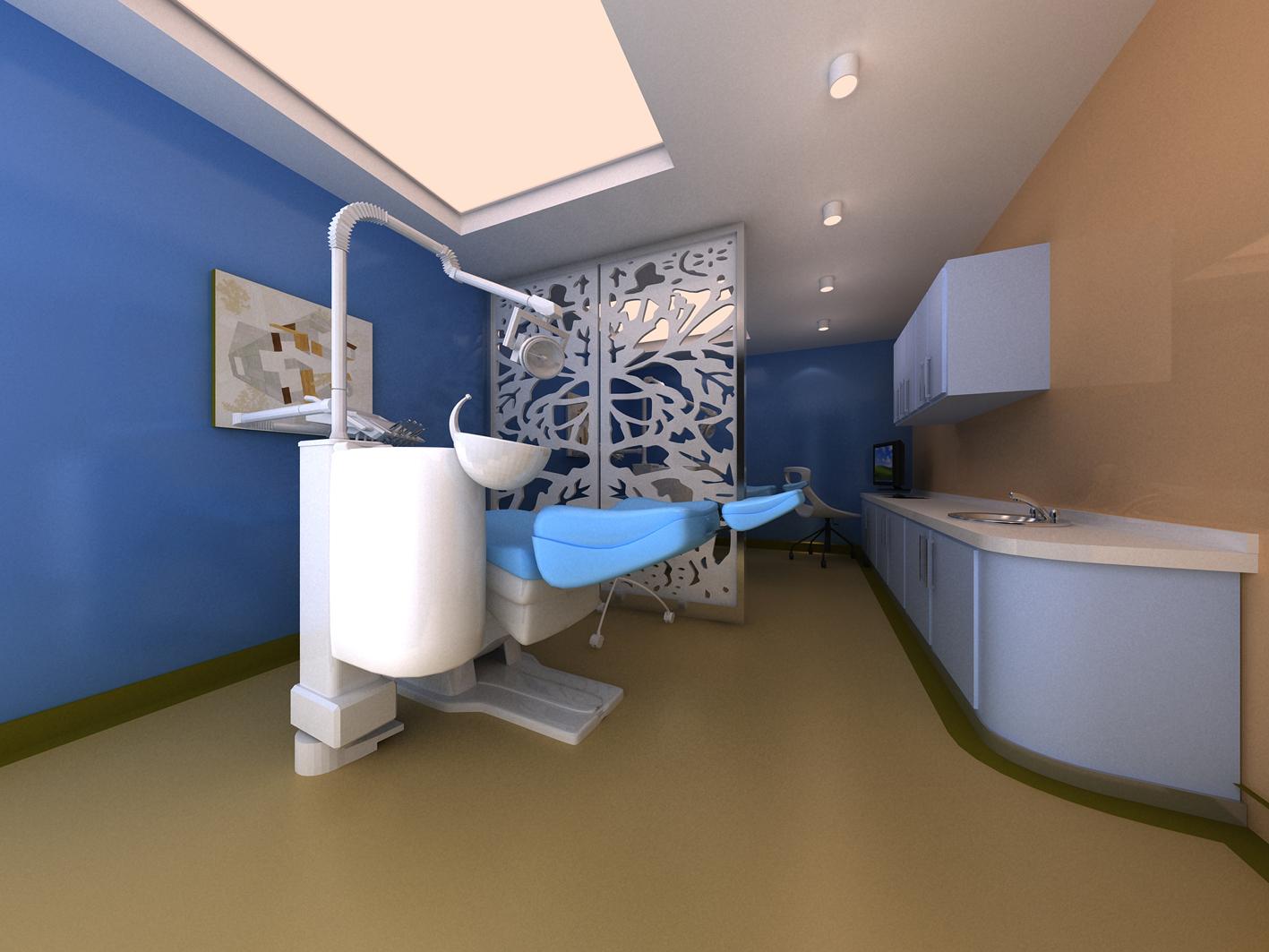 口腔医院牙科诊所设计-口腔医院牙科诊所装修设计
