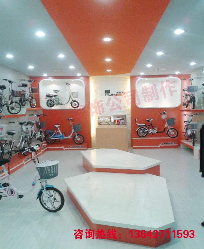 鄭州電動車專賣店裝修-玉龍工程裝飾公司的設計師家園
