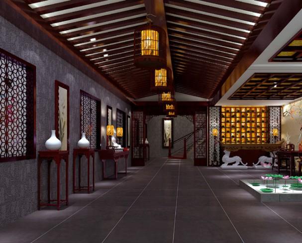 茶楼设计平面图的步骤 专业茶楼设计 郑州茶楼设计装修公司的设计师