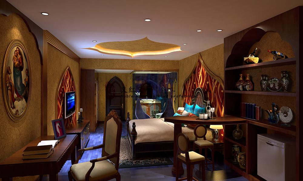 四川酒店设计-德阳红专装饰设计vi设计大闸蟹图片