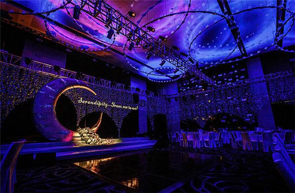 瑞德滙商务休闲会所宴会厅(600平米)  沈阳yoyo酒吧设计(600平方米)