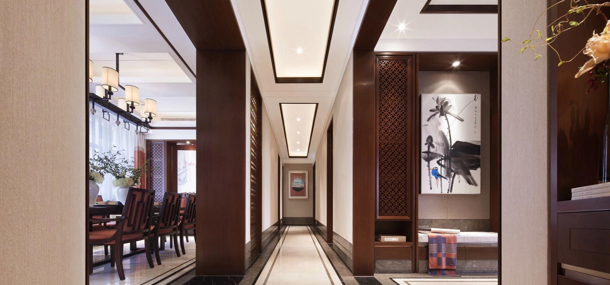 欧式古典风格样板房 ?