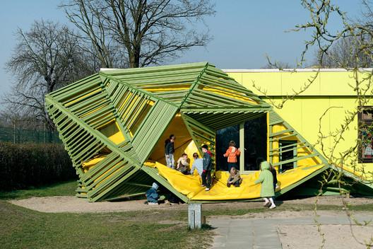 国外幼儿园设计追求建 院聪利的设计师家园 幼儿园设计研修院