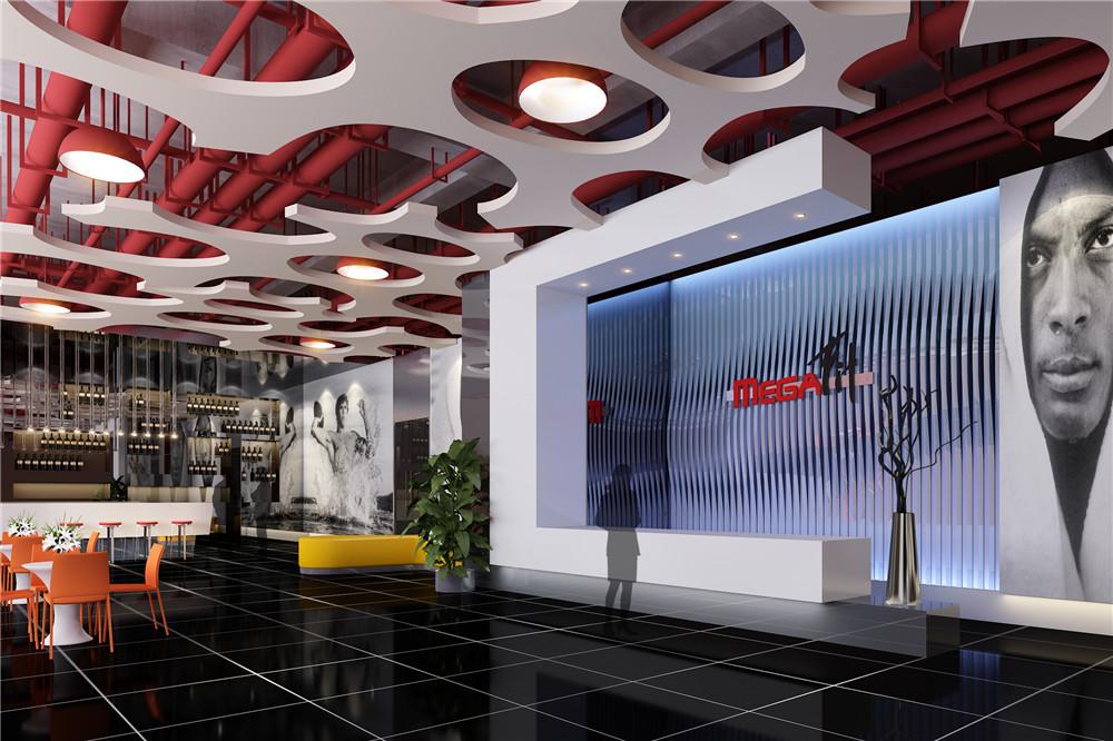 最专业健身房装修设计-四川谛莲室内设计事务所的设计
