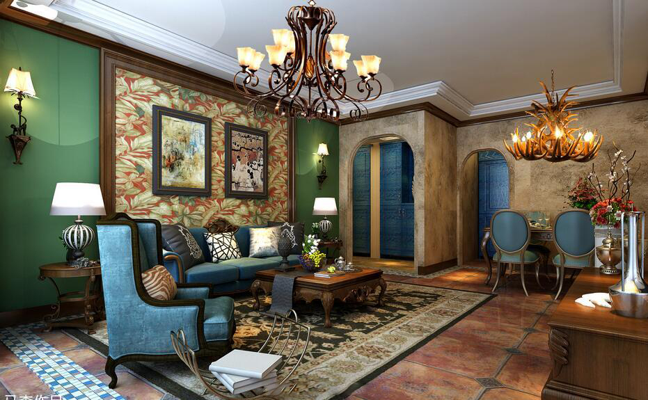 装修房子之欧美风格的搭配技巧——和室装饰