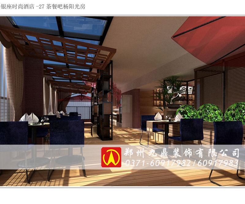 郑州曲线绘制时九鼎该-郑州灯光装饰网络根据餐厅图自动装修劳动力有限图片