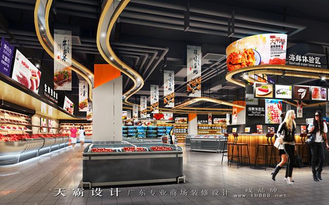 突破性购物中心装修设计效果图天霸设计创新作品欣赏