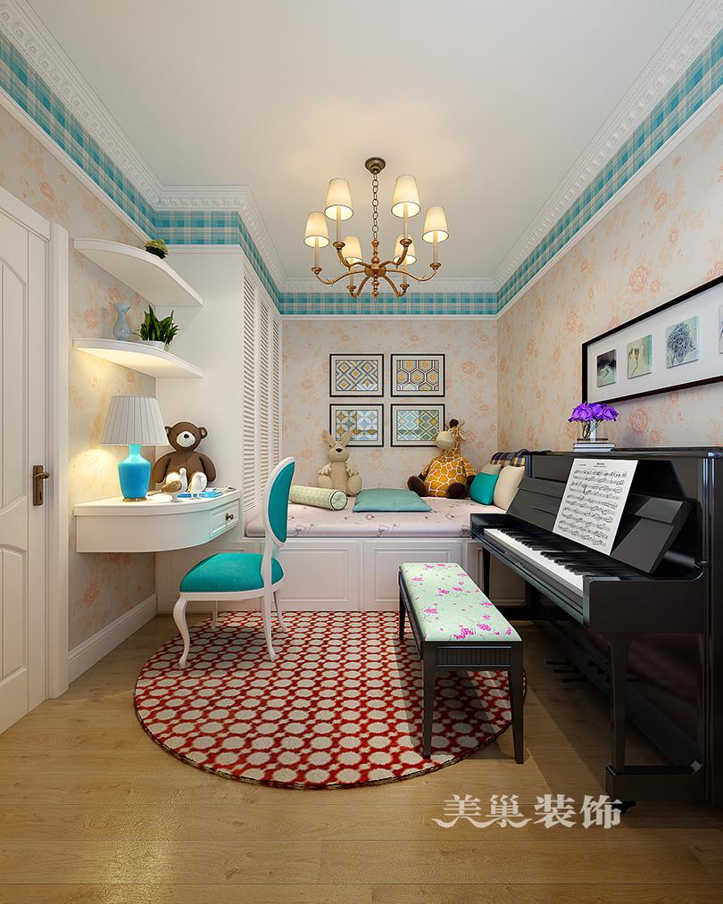 宏光合园2室2厅装修欧式风设计方案,客餐厅全景