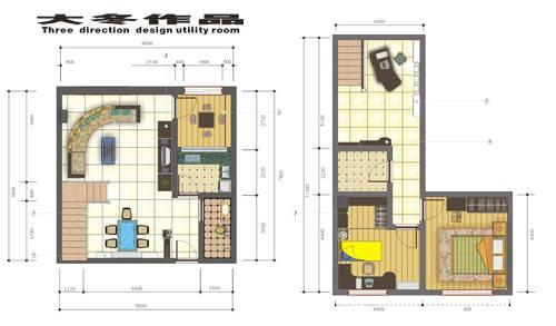 复式家装设计-李予的设计师家园-住宅公寓