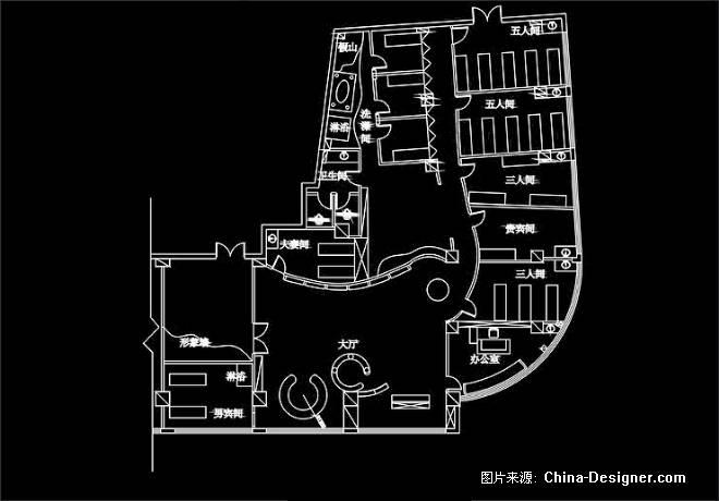 商场电路图画法