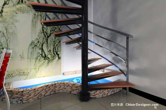 鱼池 西安效果图cad 明皇数码室内设计工作室高清图片