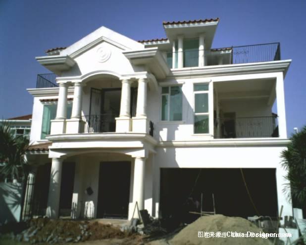 别墅外观照片6-包飞的设计师家园-200万以上,别墅,红色,欧式图片