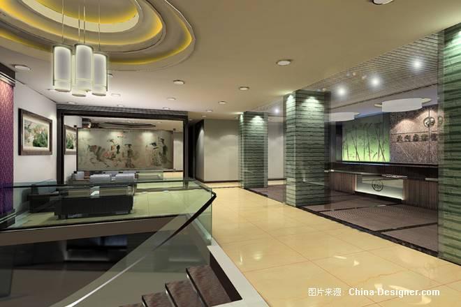 中山古镇绿洲桑拿城-尊璜室内设计装修(广州,中山,江门,珠海,贵州)的