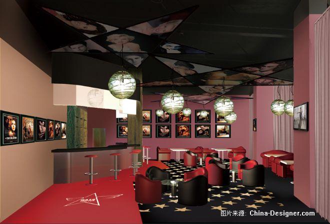 杭州星光咖啡馆-贾伟的设计师家园-红色,绚丽,现代,中国最具商业价值