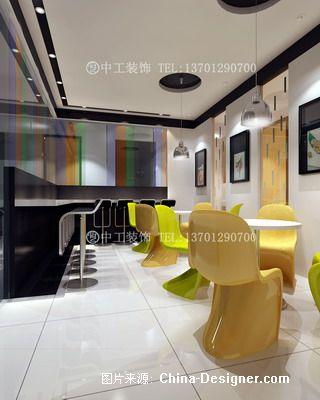小型办公空间效果图-北京中工环艺装饰工程有限公司