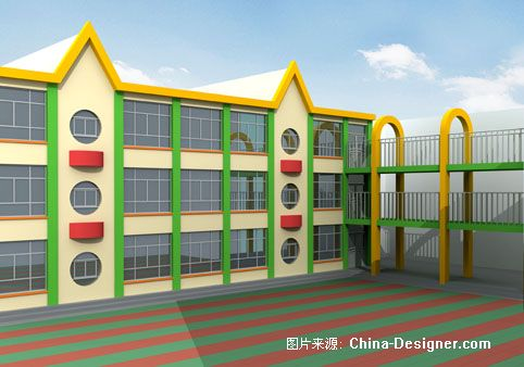 幼儿园外墙配色-马文熊的设计师家园:::马文熊的设计