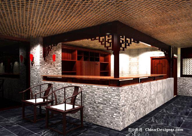 西安中式餐厅-上海儒风空间设计机构的设计师家园图片