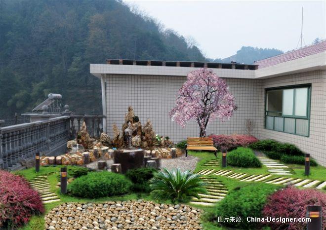 怀化通道别墅屋顶花园设计-周朝辉的设计师家园-绚丽,温馨,现代