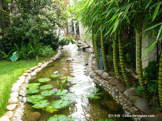 仙林某别墅庭院设计-南京古韵园林别墅庭院设计的设计师家园-10-20万图片