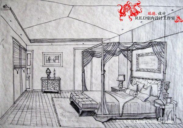 别墅手绘家园-刘建章的设计师方案-r.e.d辐射建4设计据点别墅图片