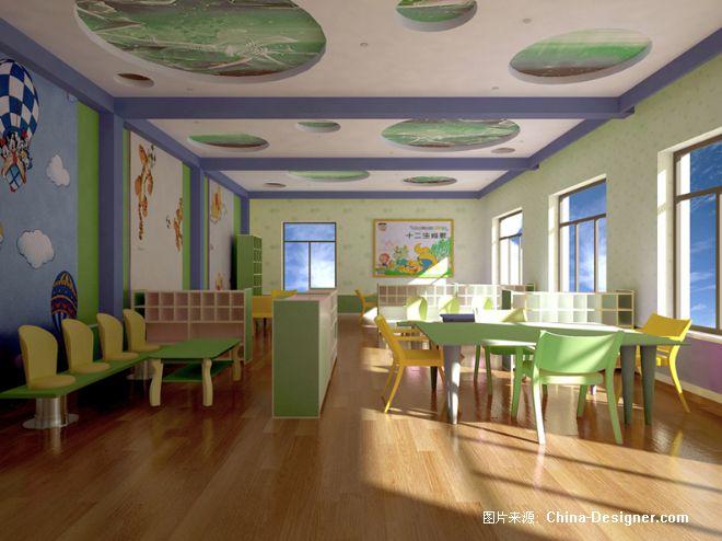 达拉特旗进修幼儿园-王培的设计师家园:::易维装饰