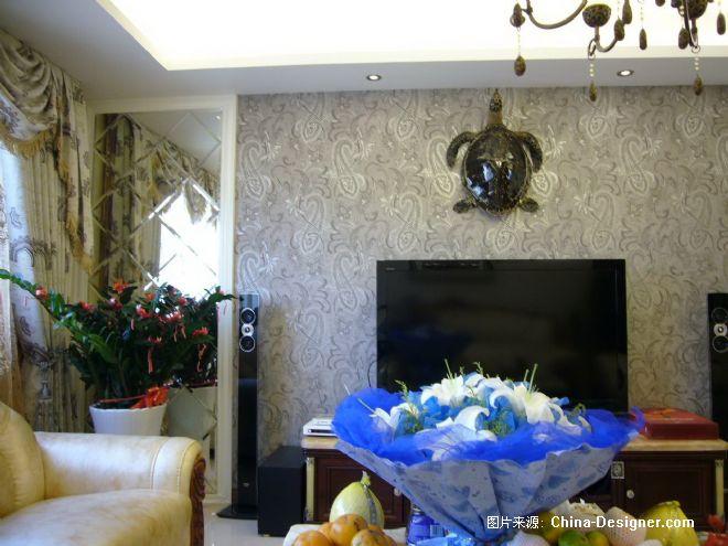 三居,样板间,棕色,欧式,亨特时尚窗饰首届china-designer全国高校空间