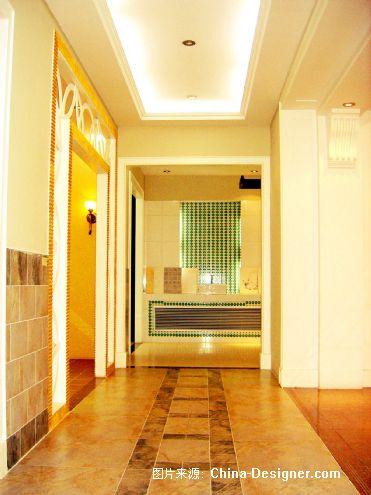 瓷砖展厅-杨敬的设计师家园-黄色