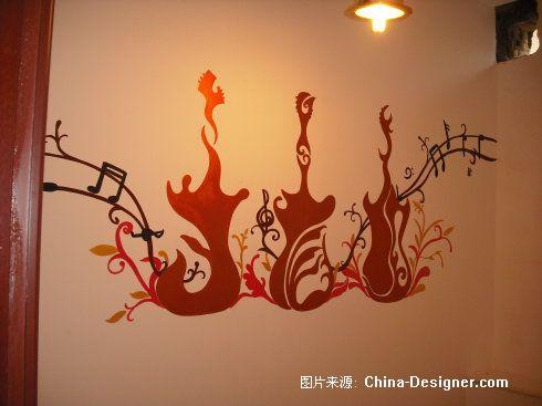 ktv店-西安水岸手绘墙工作室的设计师家园-壁画,手绘装饰,西安手绘墙