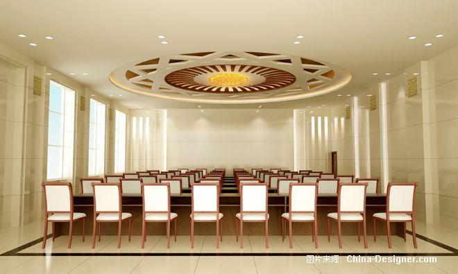 100人会议室效果图   100人会议室平面图   高清图片