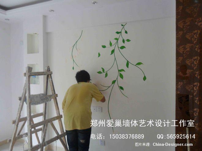 郑州墙绘 手绘墙 田园风格 手绘向日葵-郑州墙绘-郑州爱巢美居墙绘的