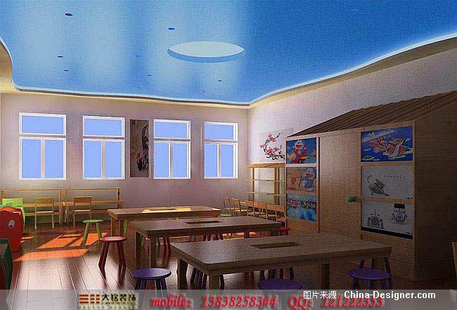 幼儿园装修设计-大铭装饰有限公司的设计师家园-现代,中式