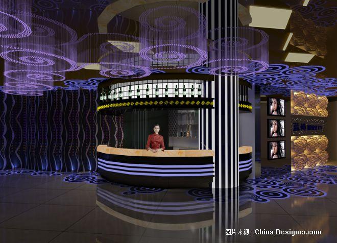 水吧台效果图; 大本营ktv-刘丽华的设计师家园-金堂奖2010china