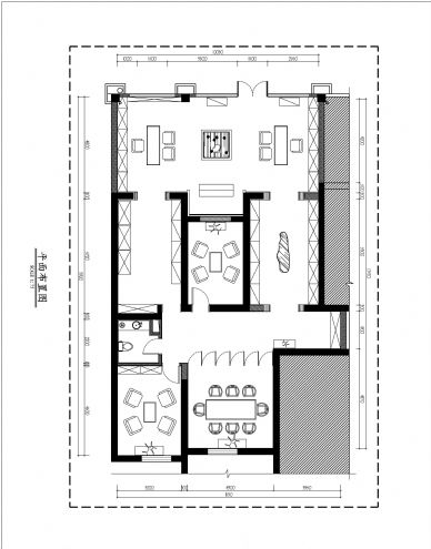 茗腾茶叶平面图; 李向宁的设计师家园