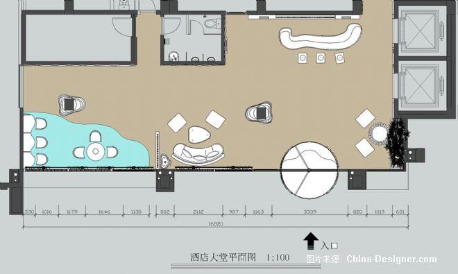 酒店大堂设计-徐传磊的设计师家园:::徐传磊的设计师