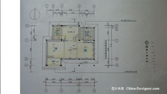 别墅室内坏境设计-龚建文的设计师家园-2010china-designer全国高校室