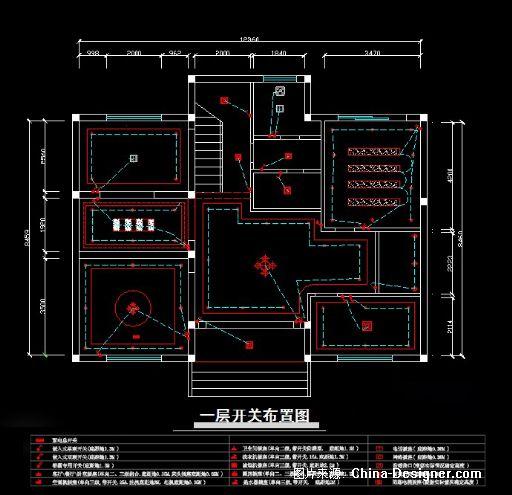 别墅设计图纸-李杨的设计师家园-2010china-designer全国高校室内设计
