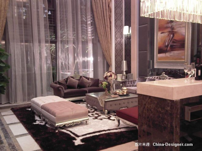 欧式豪华别墅样板房 金志强的设计师家园 第八届中国国际高清图片