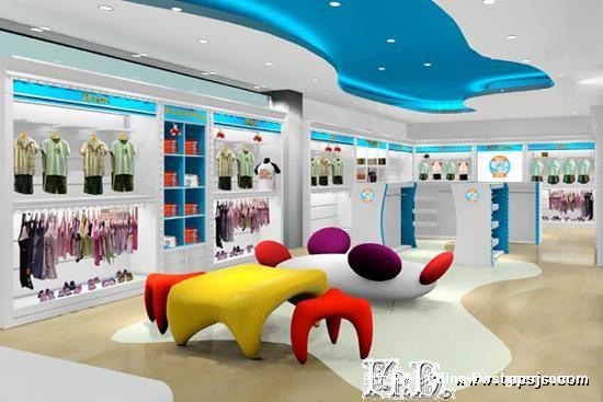 成都儿童服装店装修成都男装店装修成都的设计师家园