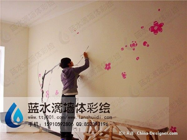 北京墙体彩绘公司的设计师家园