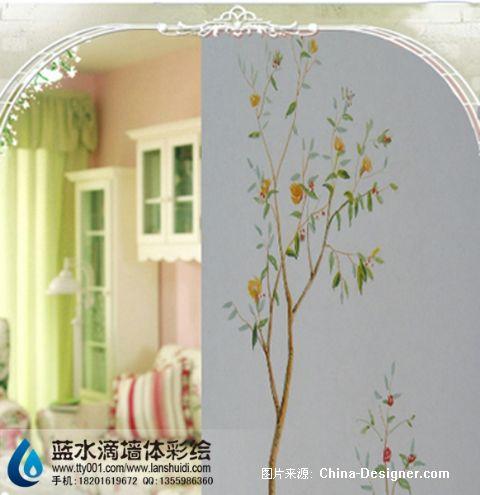 北京墙体彩绘 墙体彩绘 手绘墙 墙绘 壁画 手墙绘图片-北京蓝水滴文化